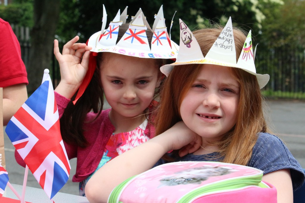 The Children Then Did A Variety Of Lessons Related To Queen Before Coming Out For Their Birthday Street Party